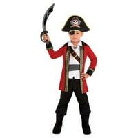 Pirate Captain Child Boys Small 4-6 Costume