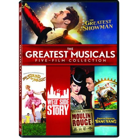 (The Greatest Musicals: Five Film Collection DVD)