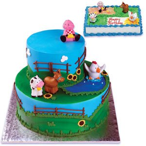Bakery Crafts Bc Farm Animals Cake Kit