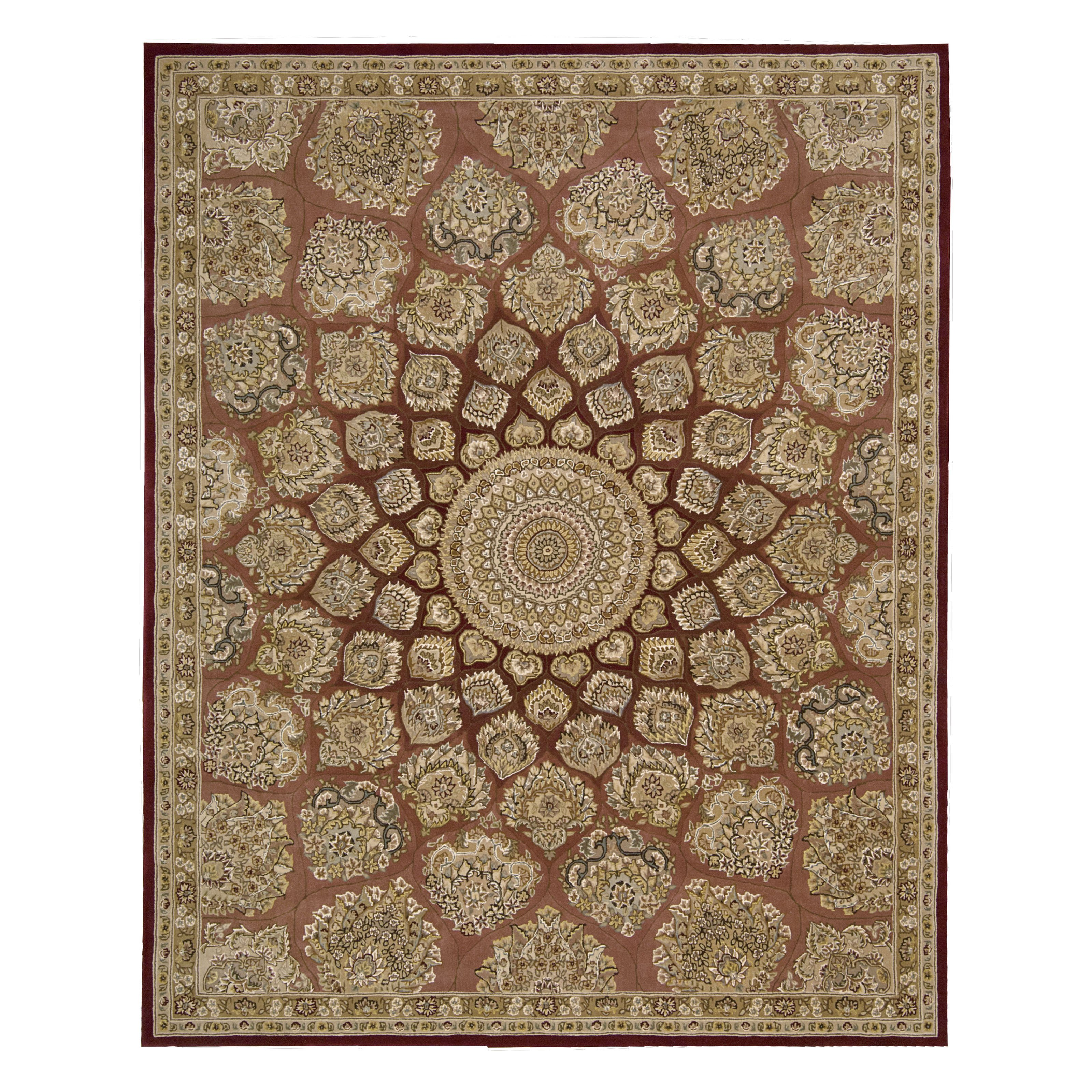 Nourison 2000 2318 Indoor Area Rug Brown by Nourison Rug Corp