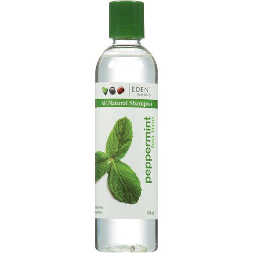 EDEN BodyWorks Peppermint Tea Tree All Natural Shampoo, 8 fl oz