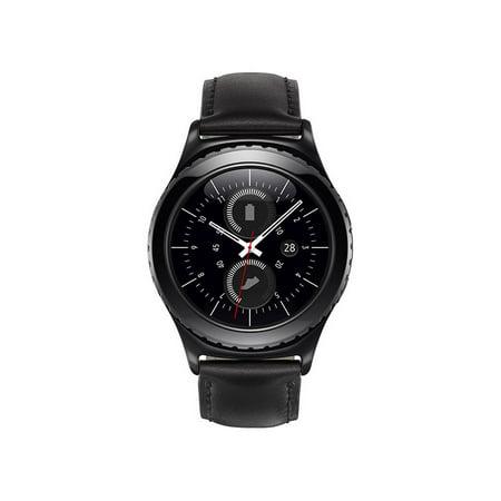 Refurbished SM-R7320ZKAXAC Gear S2 Smartwatch - (Samsung Gear Sport Vs Gear Fit 2 Pro)