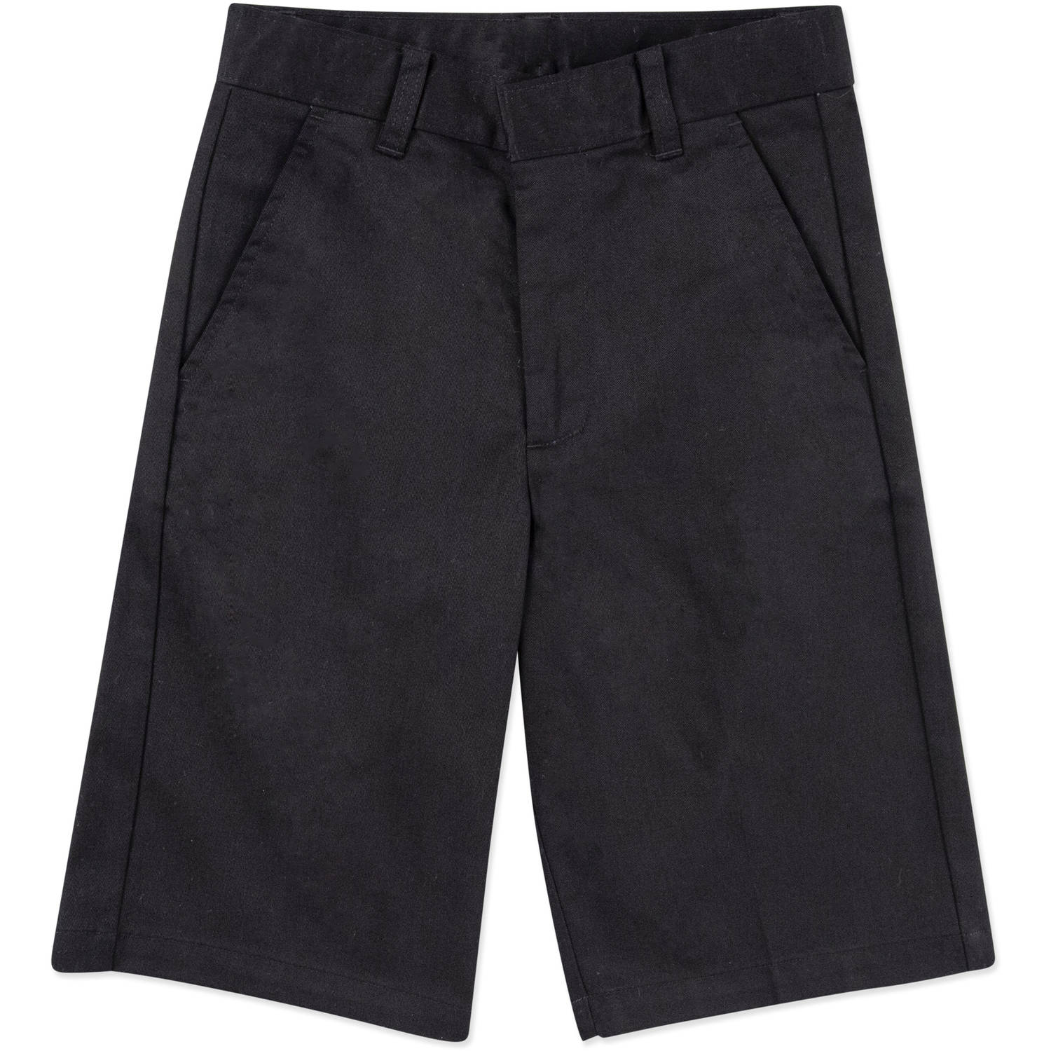 George Boys School Uniforms Husky Size Flat Front Shorts