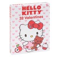 32ct Hello Kitty Valentine Cards