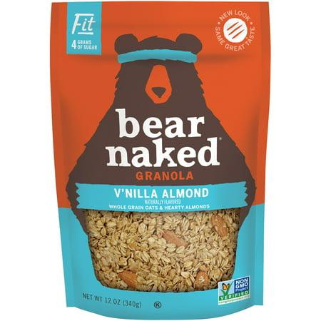 (2 Pack) Bear Naked Non-GMO Granola, Vanilla Almond, 12 Oz