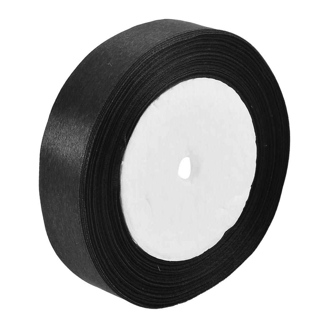 Wedding Room Decor Polyester Craft Satin Ribbon Light Yellow 98 Yards 2cm Width