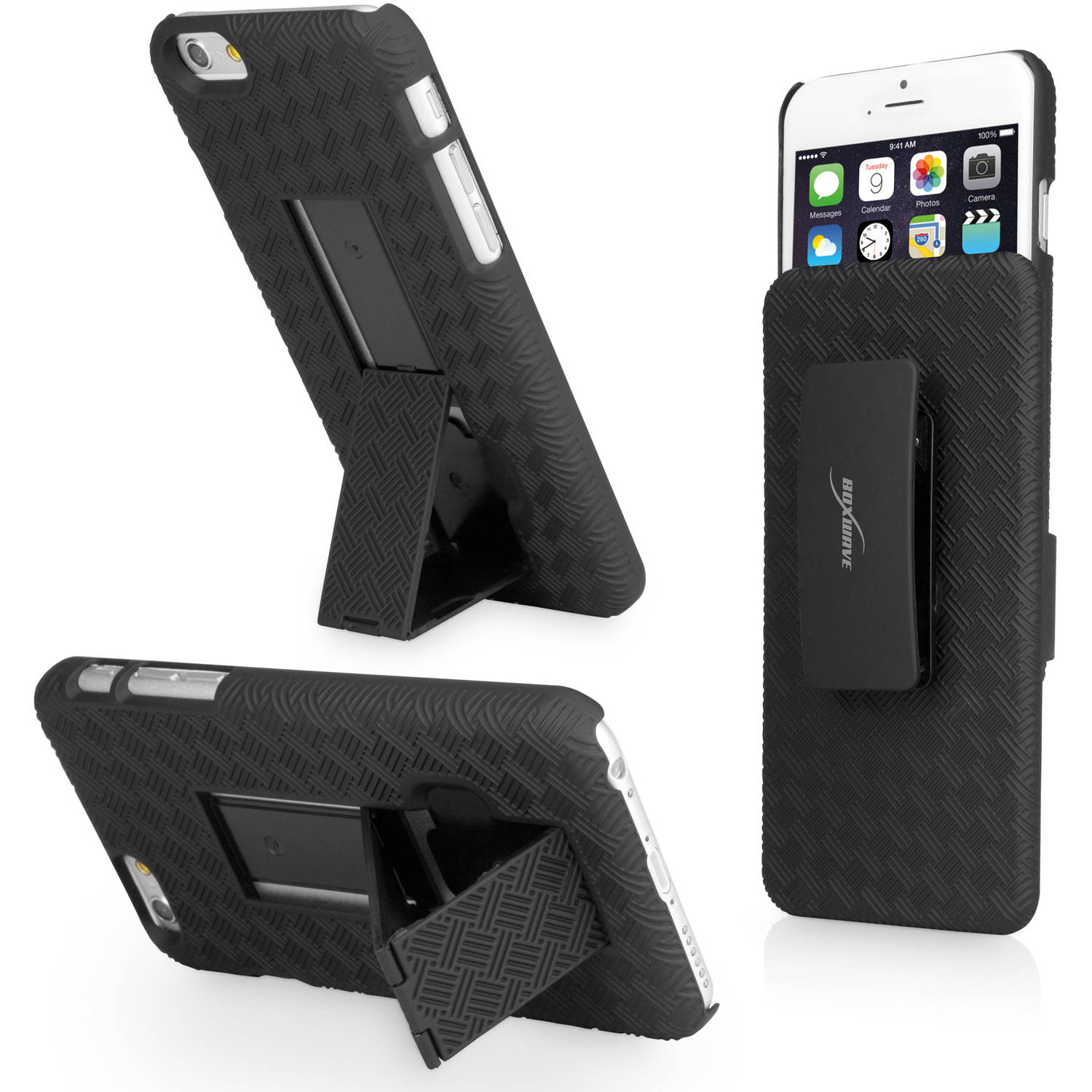 BoxWave Dual+ Holster Case for Apple iPhone 6/6s