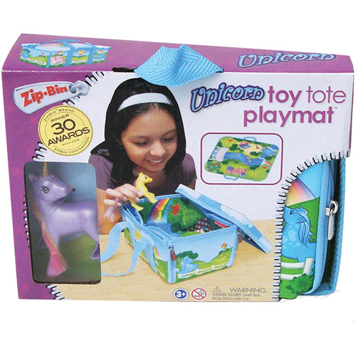 Neat-Oh! ZipBin Princess Mini Unicorn Play Set