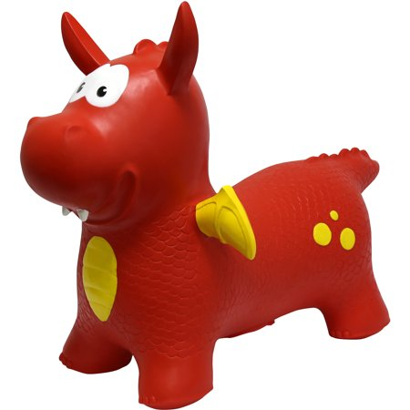 JumPets Bouncer Dexter the Dragon (Red)
