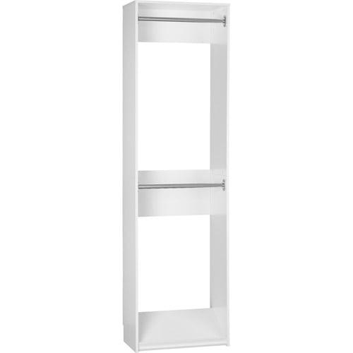 SystemBuild Closet Organizer 24 inch Expander, White  7149401PCOM