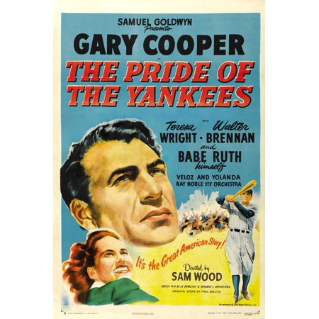 The Pride of the Yankees POSTER Movie F Mini Promo (Yankee Lake Halloween)