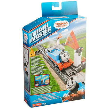 Fuser Lever - Fisher-Price Thomas & Friends TrackMaster Crisscross Junction, Using the levers to raise and lower the crossing gates allows you to start and stop.., By FisherPrice Ship from US