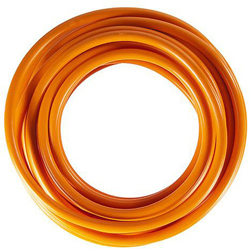 JT&T Products 141F 14 AWG Orange Primary Wire, 15' Cut