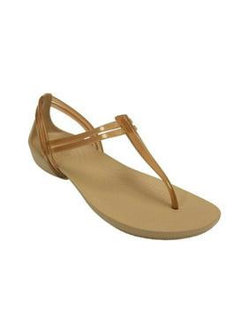 Crocs Women's Isabella T-strap Sandals