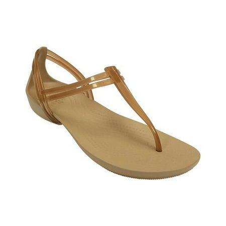 d56b57f2f92b Crocs - Crocs Women s Isabella T-strap Sandals - Walmart.com