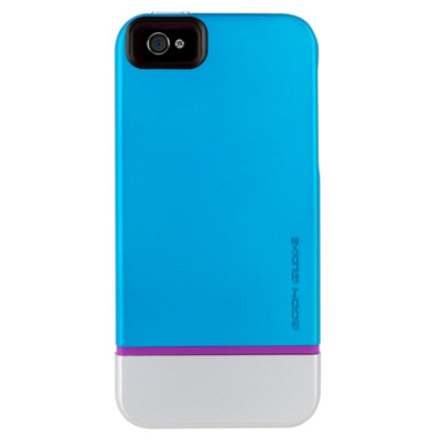 Body Glove Icon Hybird Case for Apple iPhone 5 (Teal/Silver/Pink)