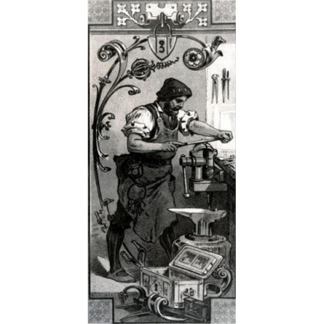 Posterazzi SAL99587168 Locksmith by Unknown Artist Poster Print - 18 x 24 in. - image 1 of 1