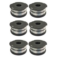 6 Spools for Black and Decker DF-065-BKP DF-065 Dual Line AFS