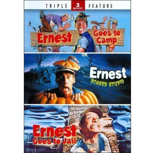 Ernest Triple Feature: Ernest Goes To Camp / Ernest Scared Stupid / Ernest Goes To Jail