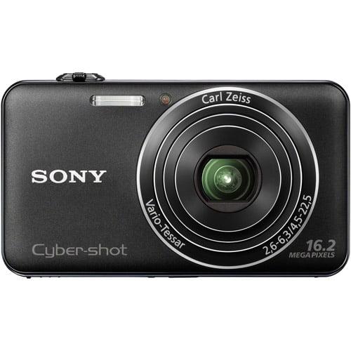 "Sony Cyber-shot DSCWX50/B Black 16MP Digital Camera w/ 5x Optical Zoom Lens, 2.7"" LCD Display, HD Video, 3D Images"