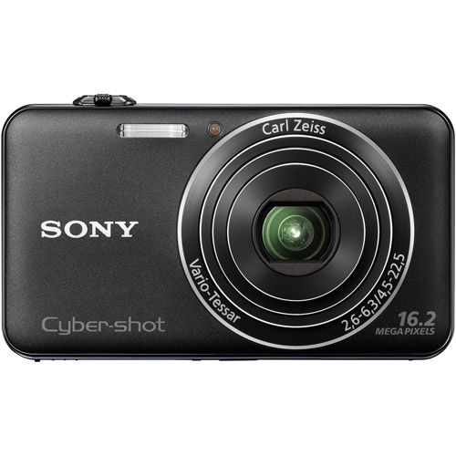 "Sony Cyber-shot DSCWX50/B Black 16MP Digital Camera w/ 5x Optical Zoom Lens, 2.7"" LCD Display, HD Video, 3D Images"
