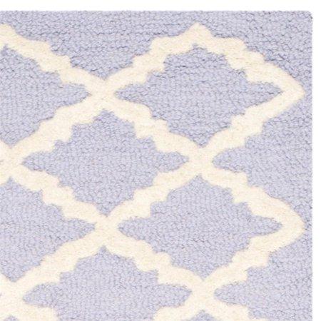 "Safavieh Cambridge 2'6"" X 8' Hand Tufted Wool Rug - image 2 de 10"