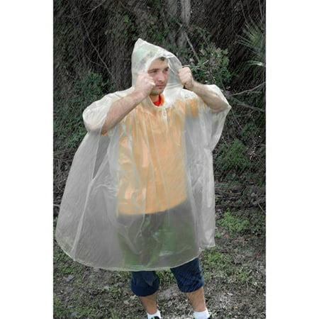 Ozark Trail Emergency Poncho](Clear Ponchos)