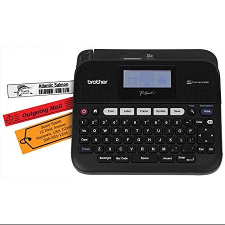 """Brother Versatile, Pc-connectable Label Maker 0.79 In s Mono Label, Tape0.14"""", 0.24"""", 0.35"""",... by"""