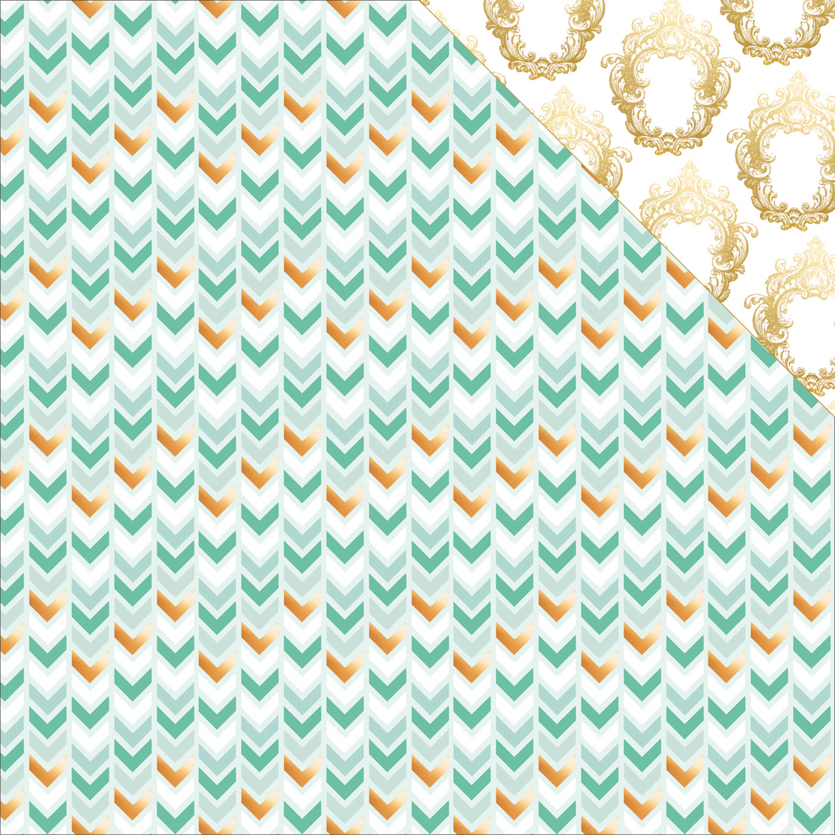 #HAPPY Double-Sided Cardstock 12 Inch X 12 Inch-True Blue