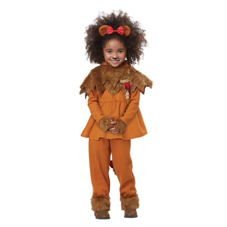 Courageous Lion of Oz Toddler Girls - Lion Costume Girls