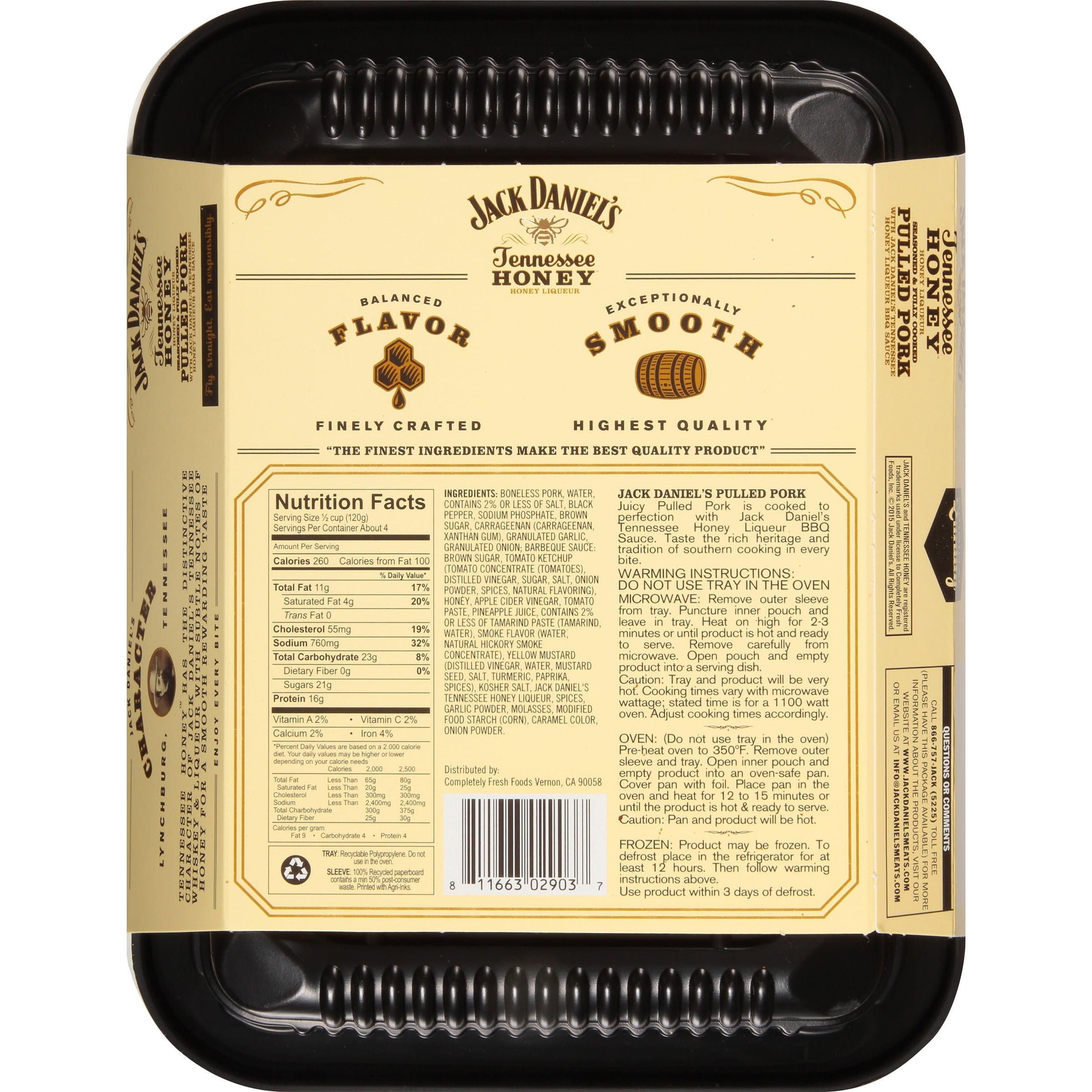 Jack Daniel's Honey Pulled Pork, 16 oz