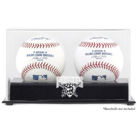 Pittsburgh Pirates Fanatics Authentic Two Baseball Cube Logo Display Case - No Size Pittsburgh Pirates Display Cases