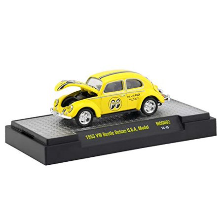 M2 Machines Limited Edition Mooneyes Release 2-1953 VW Beetle USA Model