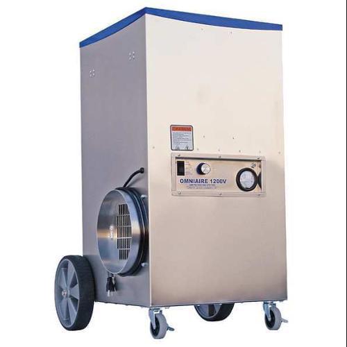 OMNITEC OA1200V Negative Air Machine, 16 in. x 16in., HEPA