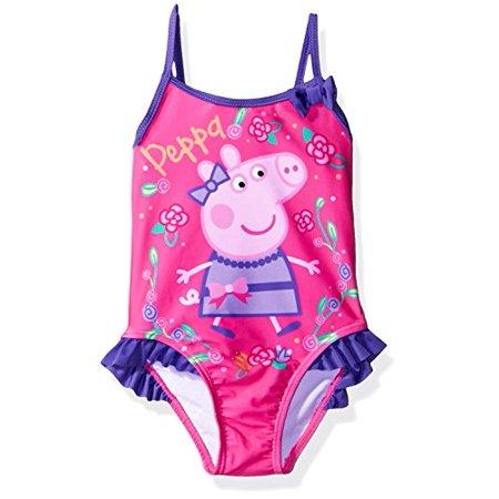 57a76d8578 Peppa Pig - Peppa Pig Girls Swimwear Swimsuit (2T