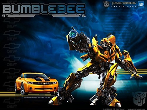 12 Sheet Transformer Bumblebee Camaro Bumble Bee Edible Photo