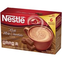 Nestle Hot Cocoa Mix Rich Milk Chocolate Flavor 4.27 oz Box, 12 count