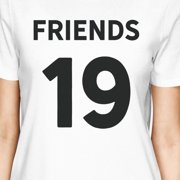 Friends Since Womens Best Friend T Shirts Custom Birthday Gifts Image 2 Of 4