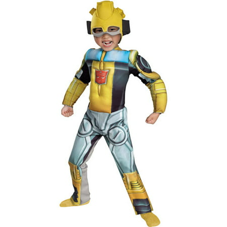 Transformers Bumblebee Rescue Bots Muscle Toddler Dress-Up Costume](Transformer Costume)