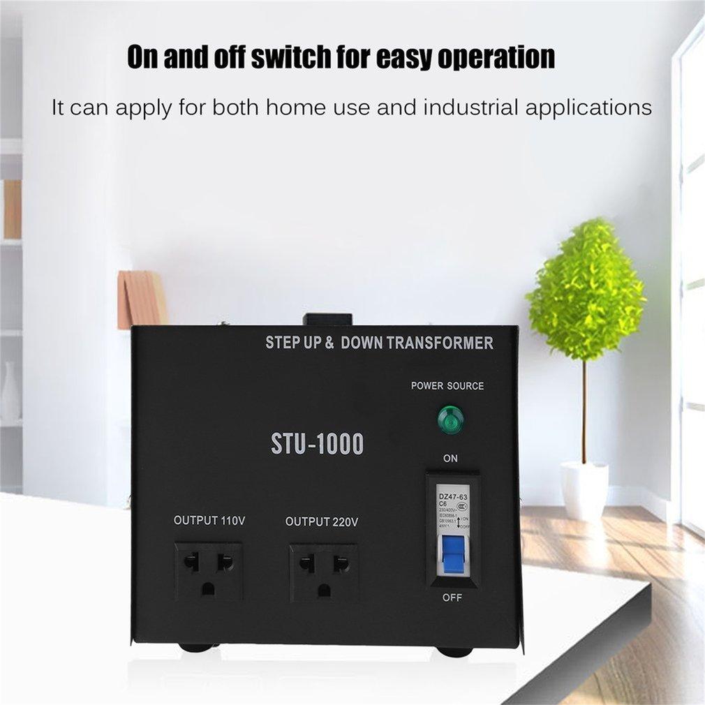 220-110V 1000W Step Up Electrical Power Voltage Converter...