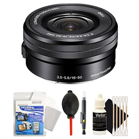 Sony 16-50mm f/3.5-5.6 OSS Alpha E-mount Retractable Zoom Lens with Top Accessory