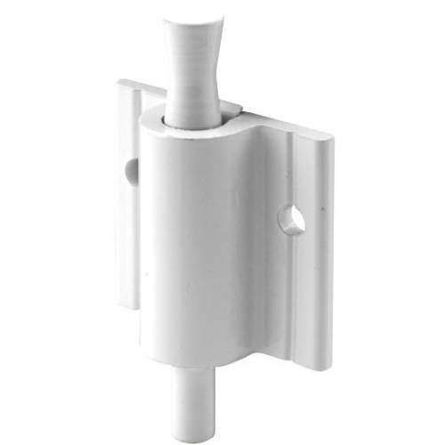Defender Security S 4601 Security Lock, Push-Pull, White