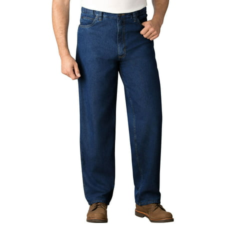 KingSize Men's Big & Tall Expandable Waist Relaxed Fit Jeans