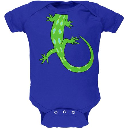 Halloween Lizard Body Costume Soft Baby One Piece - Child Lizard Costume