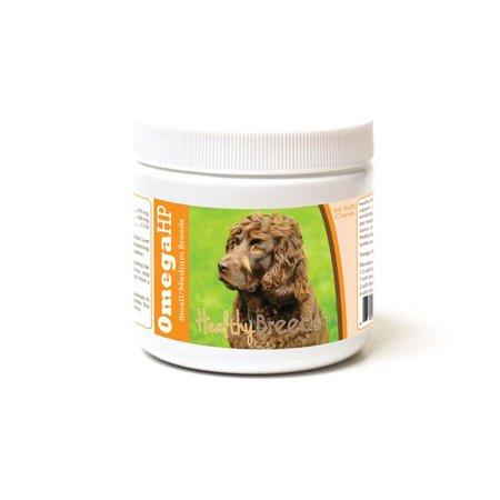 Healthy Breeds 840235186762 Boykin Spaniel Omega HP Fatty Acid Skin & Coat Support Soft Chews - image 1 de 1