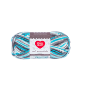 Red Heart Soft Essentials Baby Blue Horizon Knitting & Crochet Yarn