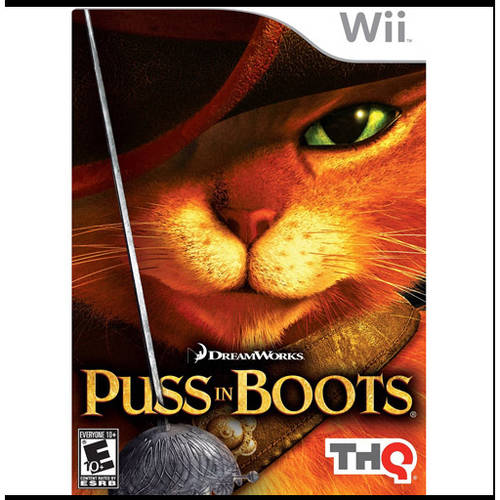 Puss In Boots (Wii) - Pre-Owned