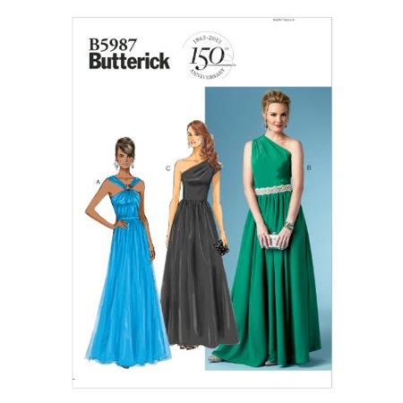 Butterick Patterns B40 Misses' Dress Sewing Template Size B40 New Walmart Dress Patterns