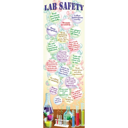 Poster Set Science Lab - SCIENCE LAB SAFETY COLOSSAL POSTER