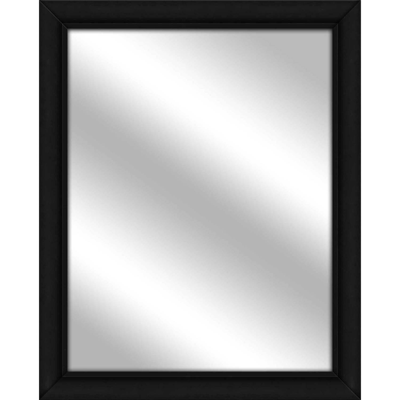 Vanity Mirror, Black, 25.5x31.5 by PTM Images